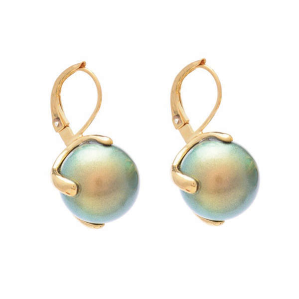 Irides_Green_Pearl_Earrings