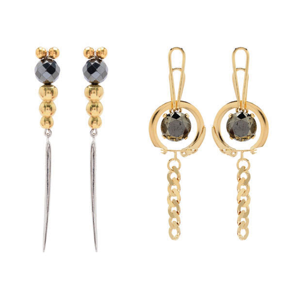 Pyrite_Long_Earrings