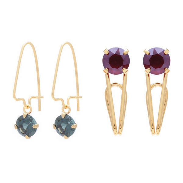 Spinel_DkRed_Earrings