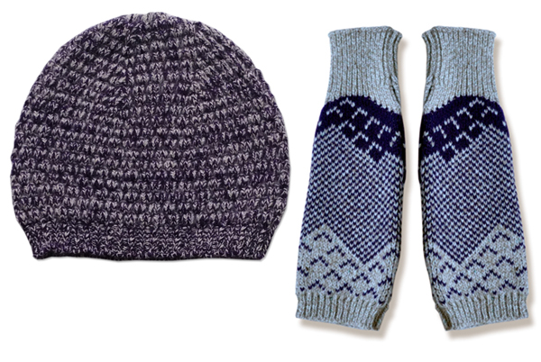 Violet_marl_hat_glove
