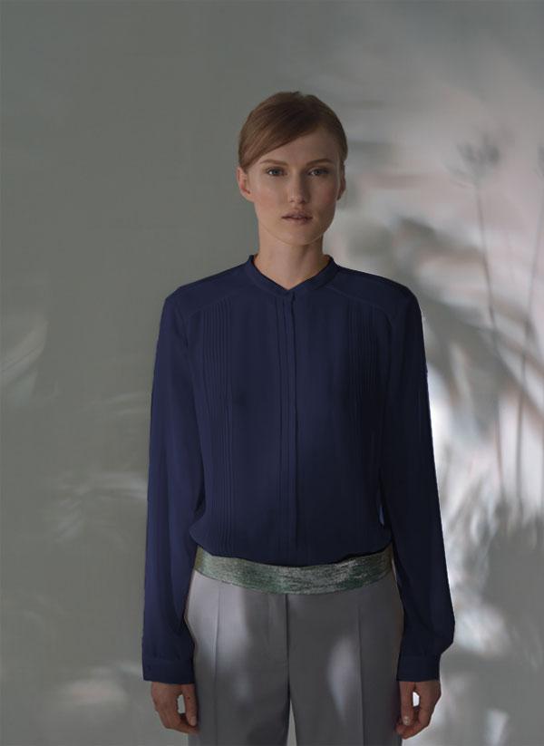 chiffon-silk-pleated-shirt